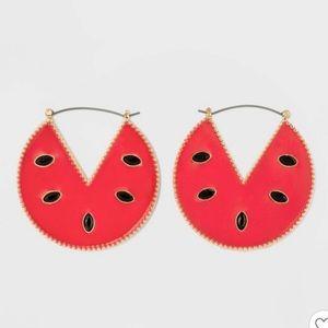 Baublebar Watermelon Earrings NWT